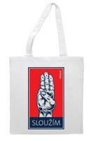 Bavlněná taška - Sloužím