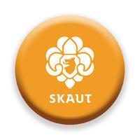 Placka 25 Nové Logo oranžová