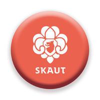 Placka 44 Logo červená