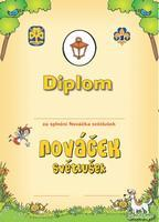 Diplom - Nováček Světlušek
