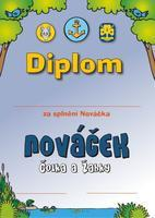 Diplom - Plavby Nováček