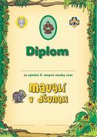 Diplom - Stezka Vlčat 2