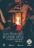 Plakát Betlémské světlo A3 lucerna