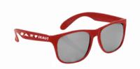 Brýle sluneční červené UV400 dětské