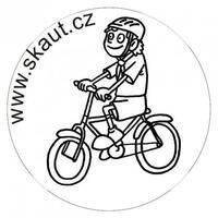 Razítko Skaut Cyklista