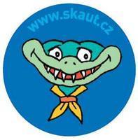 Placka 25 Saurik 2 modrá