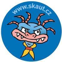 Placka 25 Saurik 3 modrá