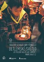 Plakát Betlémské světlo A3 vlče