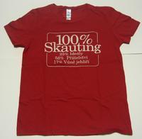 TR 100% DA červené XL ideál
