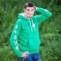 Mikina SKAUT pánská zelená M, pánská zelená M