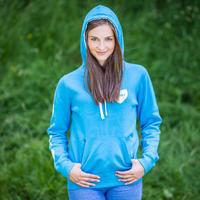 Mikina SKAUT dámská světle modrá