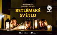 Plakát Betlémské světlo 2018 Zídka