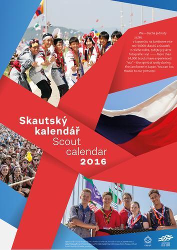 Skautský kalendář 2016 - 1
