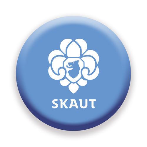 Placka 44 Logo středně modrá - 1