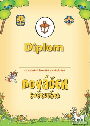 Diplom - Nováček Světlušek - 1