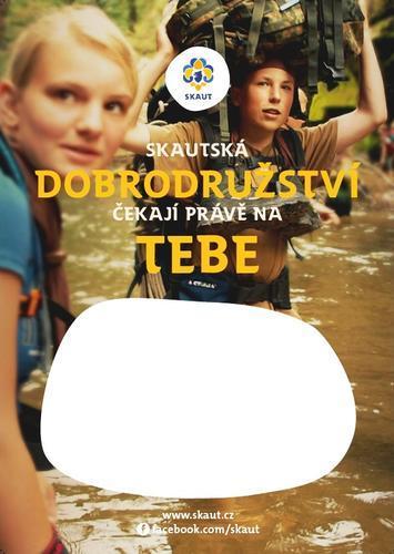 Náborový plakát A3 Dobrodružství