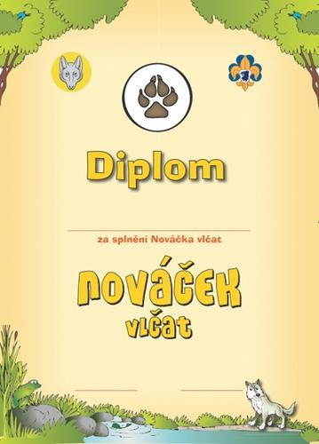 Diplom - Nováček Vlčat  - 1