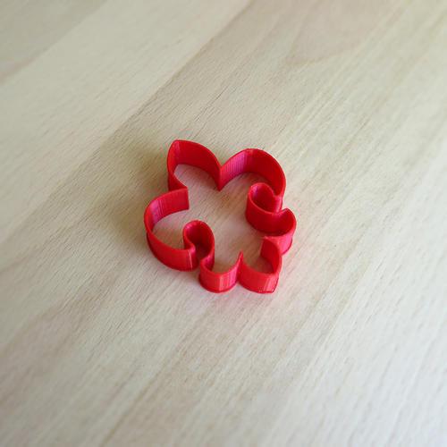 Vykrajovátko skaut - lilie malá - 1