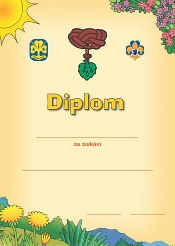 Diplom - Světlušky zkoušky - 1