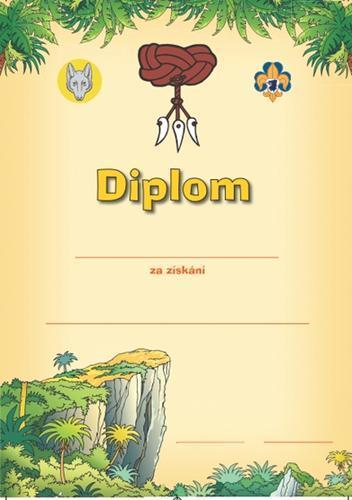 Diplom - Vlčata zkoušky - 1