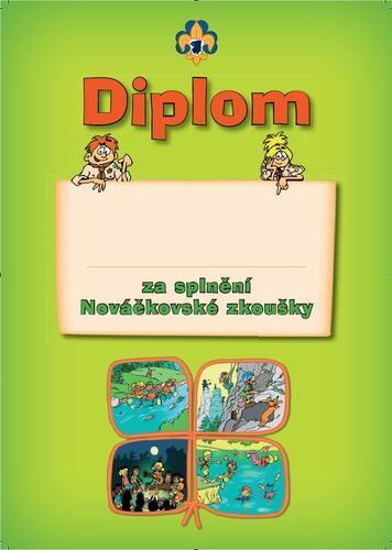 Diplom - Nováček  - 1