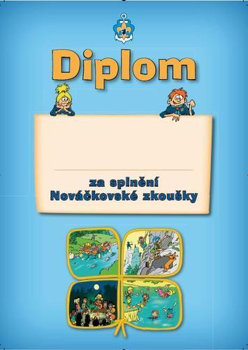 Diplom - Nováček vodní - 1