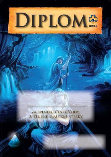 Diplom - Cesta vody Fantasy - 1