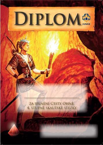 Diplom - Cesta ohně Fantasy - 1