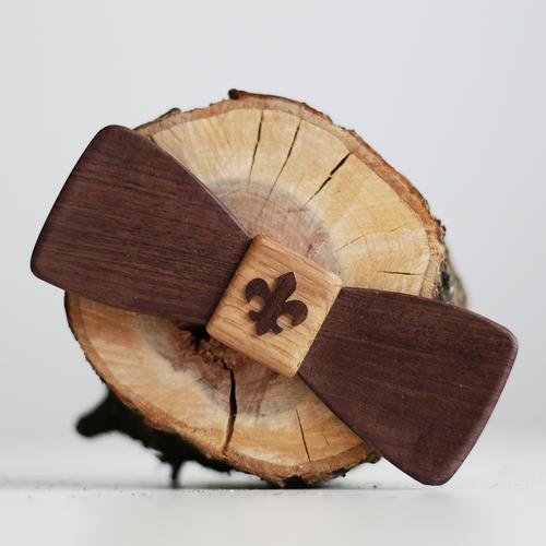 Motýlek skautský dřevěný - 1