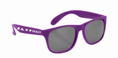 Brýle sluneční fialové UV400 - 1