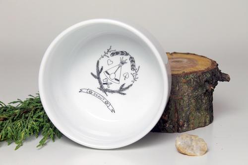 Porcelánová miska - 1
