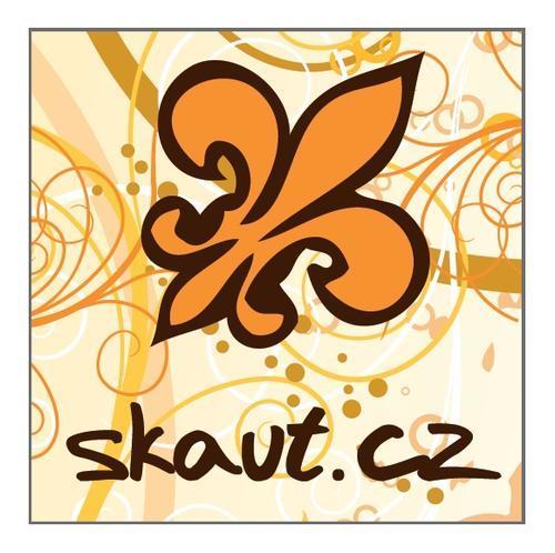 Placka 37 Skaut.cz oranžová - 1