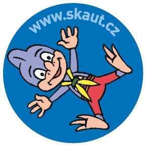 Placka 25 Saurik 1 modrá - 1
