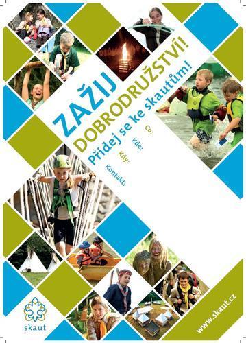 Náborový plakát A2 Mozaika