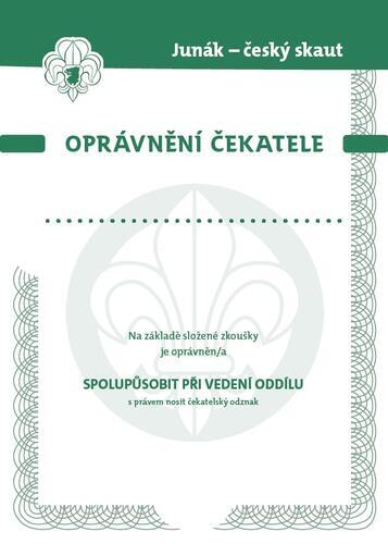 Dekret - čekatelské oprávnění