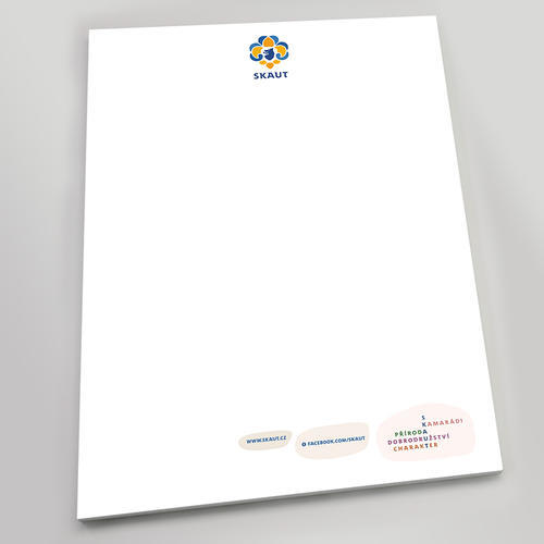 Papír hlavičkový skaut tajenka - 1