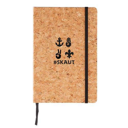 Korkový zápisník A6 skaut - 1