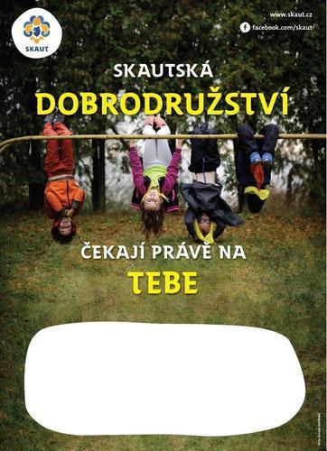 Náborový plakát A3 Gravitace