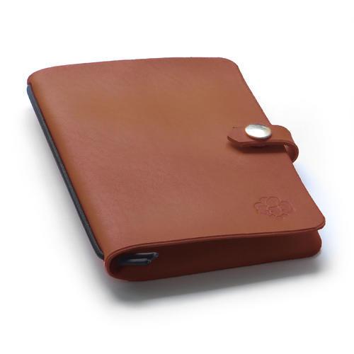Zápisník v kožených deskách hnědý - 1