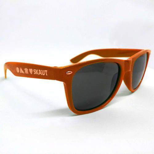 Brýle sluneční oranžové UV400