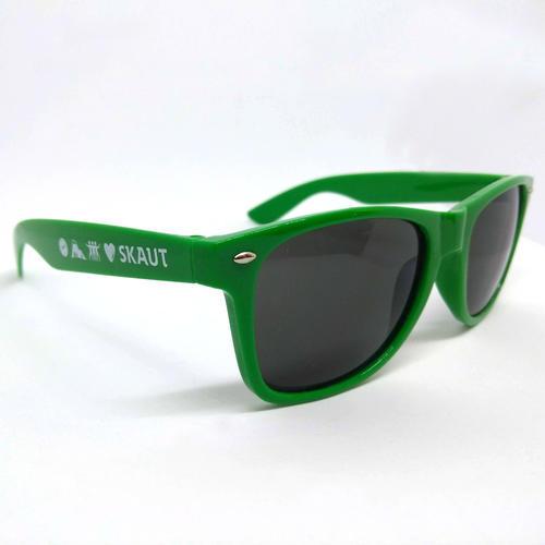 Brýle sluneční zelené UV400 - 1