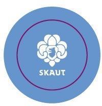 Placka 44 Logo středně modrá - 2