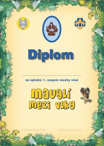 Diplom - Stezka Vlčat 1 - 2
