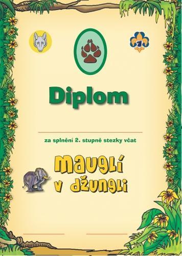 Diplom - Stezka Vlčat 2 - 2