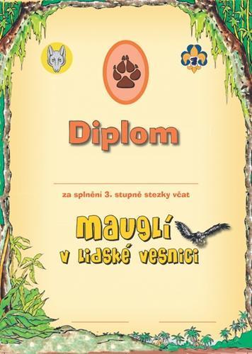 Diplom - Stezka Vlčat 3 - 2