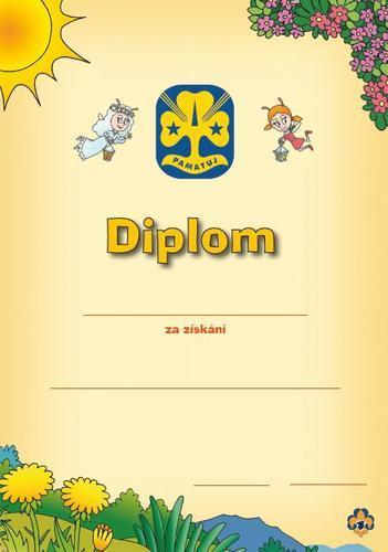 Diplom - Světlušky univerzální - 2