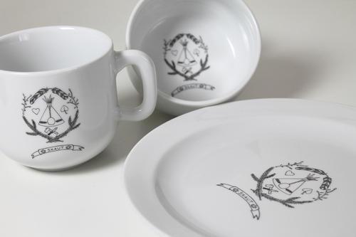 Porcelánový talíř - 2