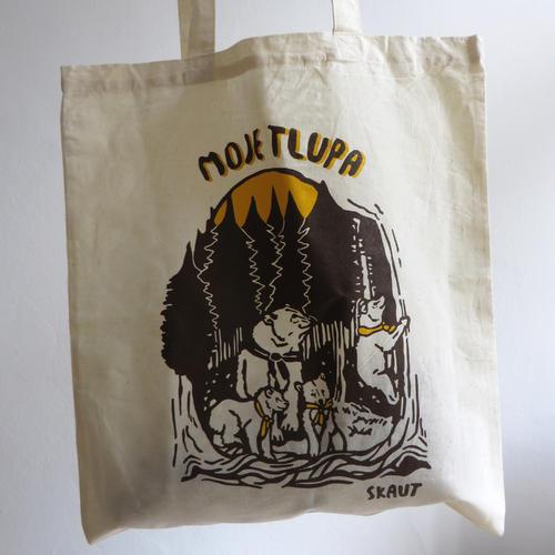 Bavlněná taška - Moje tlupa - 2