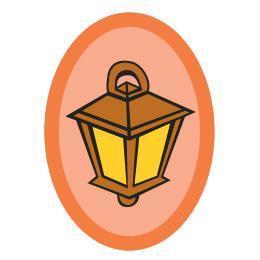 Nášivka sluneční lucerna - 3. stupeň - 2