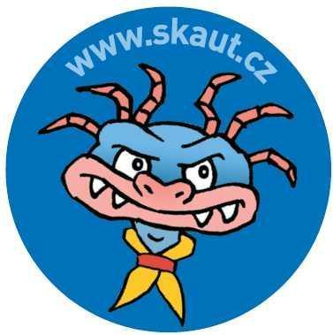 Placka 25 Saurik 3 modrá - 2